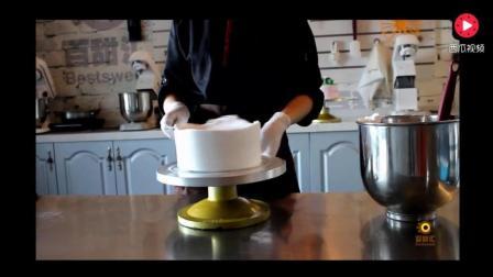 包教包会  可在家做 托马斯小火车蛋糕制作视频
