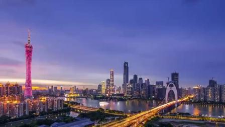 世界十大摩天城市延时摄影