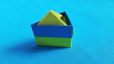 折纸王子教你三角形蛋糕, 折纸大全简单又漂亮, 留着教孩子