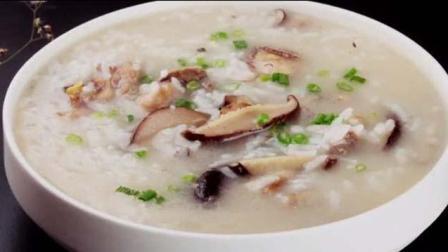 香菇鸡肉粥: 脆嫩香茹, 营养鸡肉, 还有助于调理肠胃