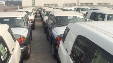 中东版17款丰田FJ酷路泽现车泛滥成灾, 堆积成山, 全国最低价批发