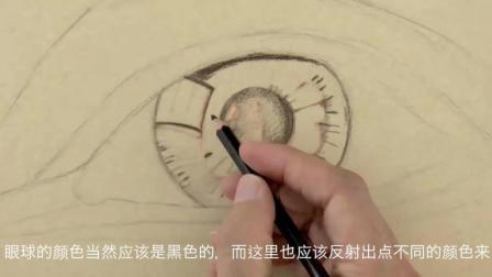 【绘笔万象】如何画超逼真人眼