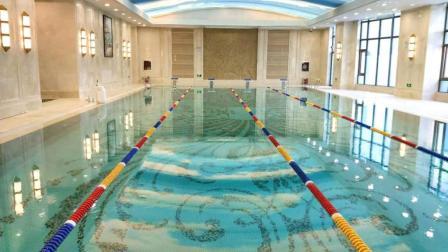 济南恒大金碧新城综合楼游泳池设备安装工程