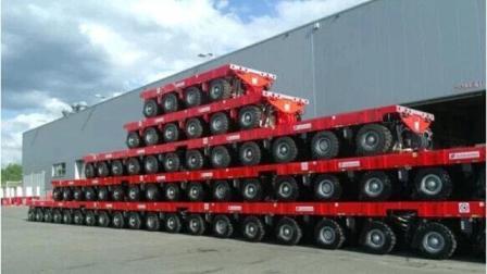中国发明高科技, 世界轮胎最多的汽车, 1152个轮胎, 国产航母全靠它!