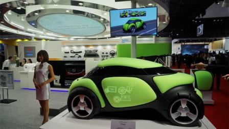 世界上第一辆用橡胶做车身的汽车, 撞上去能反弹!