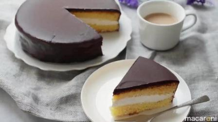 最简单最经典的一款巧克力夹心蛋糕, 一学就会的那种!