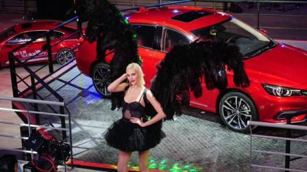 大批维秘超模空降全新名爵6发布会, 上演最纯粹的香车配美女!