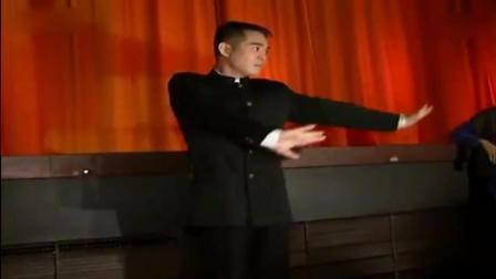 李连杰国外表演中国功夫, 台下的外国粉丝疯狂了!
