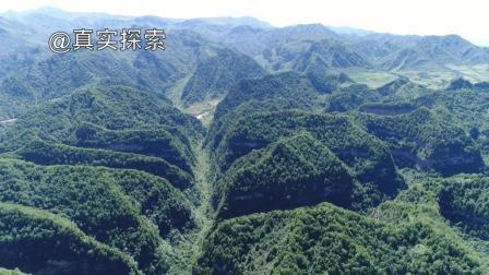 航拍渭河16: 渭河源(三): 天井峡, 甘肃省定西市渭源县莲峰镇