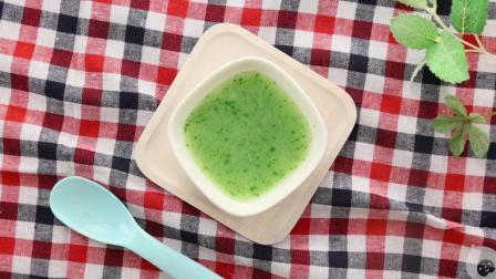 贝贝粒辅食百科 宝宝不爱吃蔬菜怎么办?在口感绵密香醇的土豆汤中加入青菜,让宝宝爱上蔬菜的味道