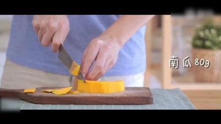 《南瓜吐司布丁》外表香脆, 内里柔软~既能尝到布丁的嫩滑口感, 又有土司香脆味道的美食!