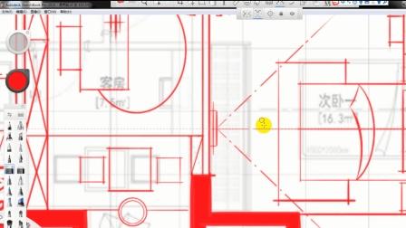 最新室内设计教程(方案设计/户型优化)全套设计第十一节: 次卧的讲解和整体布局的概念