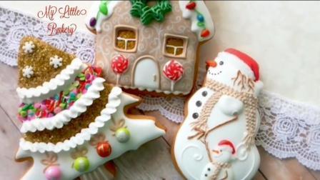 圣诞装饰饼干--圣诞款糖霜饼, 让气氛更浓