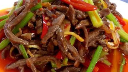 芹菜炒牛肉 只要掌握三个步骤, 把牛肉丝炒得更滑嫩