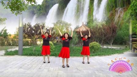 三友矿山广场舞【赞美主耶稣】基督教舞蹈