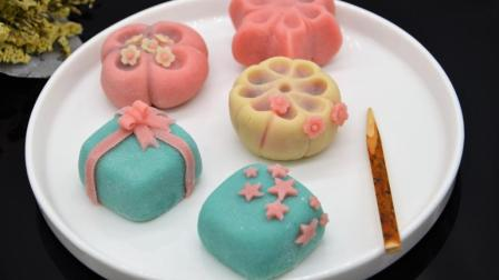 日式和果子练切做法, 做好就能享受一份和果子一杯清茶的周末慵懒时光