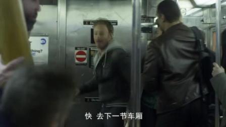 大白鲨闯入火车