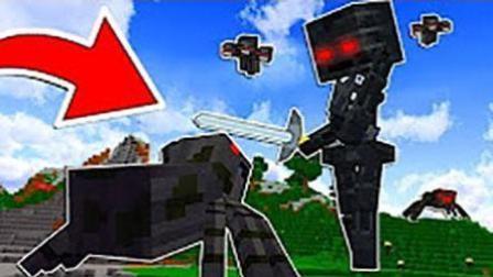 魔哒我的世界minecraft模组大乱斗王者荣耀奥特曼大战泰坦末影人与泰坦凋零骷髅
