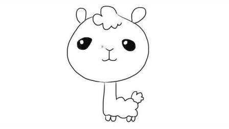 萌哒哒的小动物幼儿亲子儿童简笔画 幼儿园学画画