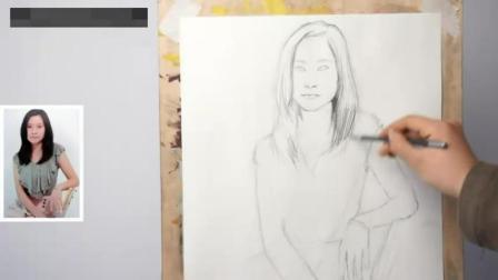 素描培训中国画教程石头, 光影素描入门第13课, 少儿绘画色彩教程5零基础怎么学素描