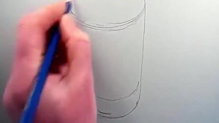 素描图片素描的诀窍素描基础入门素描自学入门基础教程素描示范水杯诀窍1写生素描