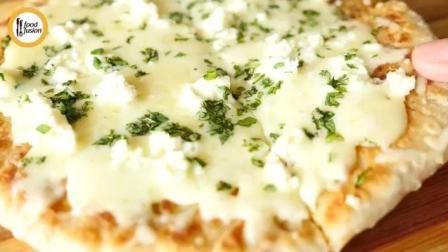 食谱: 平底锅的做迷你小披萨