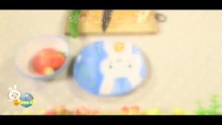 【学做水果拼盘】儿童手工制作创意水果拼盘简单做法苹果拼盘荷塘月色亲子手工【小卡手工课】