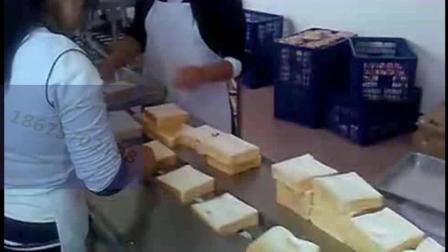毛毛虫面包包装机长条面包包装机械方包包装机面包包装机械