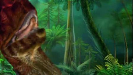 恐龙时代: 侏罗纪怪兽--双冠龙蓝猫