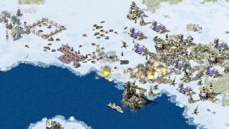 红色警戒2之共和国之辉06期 美国VS苏联  不列兹然湖