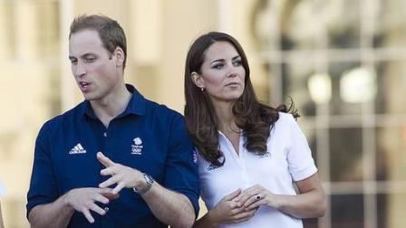 威廉王子和凯特王妃, 在一起好恩爱好和谐好温馨, 真是天生一对。
