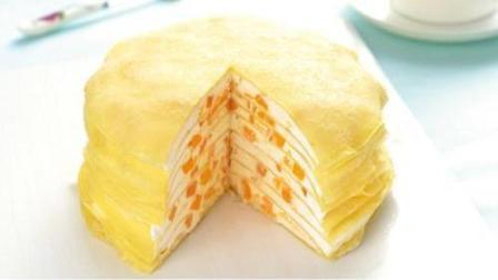 千层蛋糕的新做法, 不用发酵, 做法很简单, 没有基础的你可以做出来!