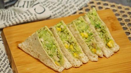 【金枪鱼牛油果三明治】不开火的快手减肥餐, 每天吃一片很快就变瘦哦