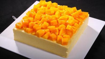 小鲁教你做蛋糕之芒果慕斯蛋糕的做法剖析-一步一步来, 其实很简单!