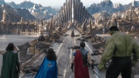 几分钟看完《雷神3》高口碑, 雷神与姐姐生对决, 全程热血沸腾