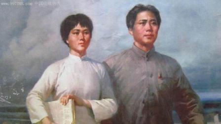 1930年杨开慧去世后, 给丈夫留下什么遗物, 30年后能让他泪目