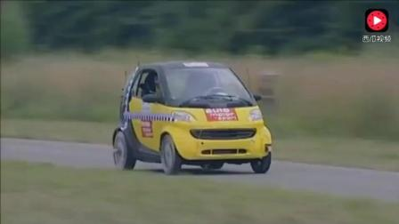 奔驰smart这类两座微型车能不能跑高速? 这个碰撞测试能给你答案