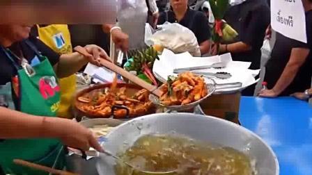 寻味街头美食: 泰国蜂蜜大蒜芝麻烤猪排