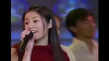 你听过林心如唱山歌吗! 林心如崔永元05年春晚合唱《溜溜的她》
