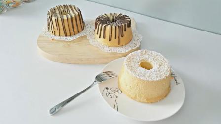 松软原味戚风蛋糕 How to Make Chiffon Cake