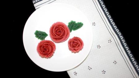 手把手教你做裱花|韩式蛋糕玫瑰裱花分解教学视频