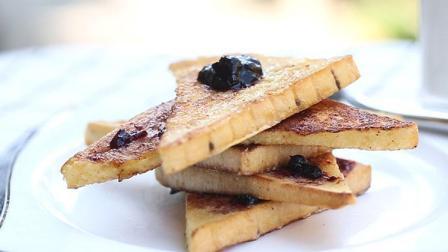 简单做出高逼格早餐, 法式蓝莓吐司