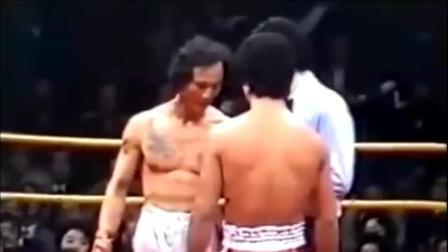 香港明星陈惠敏45秒KO嚣张日本仔, 珍贵的历史视频!