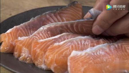 照烧三文鱼做法, 2分钟教会你, 超有面子的一道菜