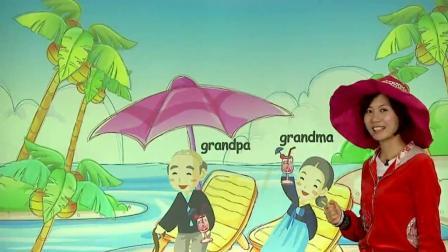 少儿英语: 家庭成员用英语如何介绍? 小朋友快来一起学吧