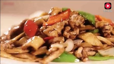 杏鲍菇炒肉, 材料简单做法轻松, 家常菜也能让你做出高大上的感觉