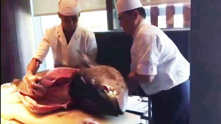 这鱼快被日本吃尽了! 大厨分解金枪鱼刀法娴熟, 享誉世界