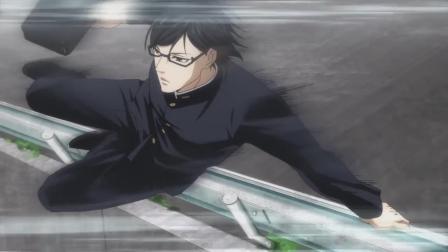 《在下坂本,有何贵干?》坂本居然和小学生比踢石子,厉害炸了