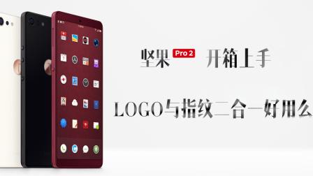 坚果Pro 2开箱上手:LOGO与指纹二合一好用么?