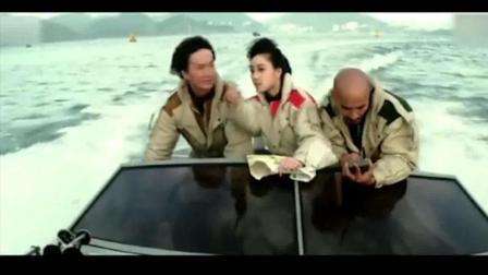 香港电影: 他们以为只有张国荣一个人去其实金刚许冠杰光头佬利智在后面!